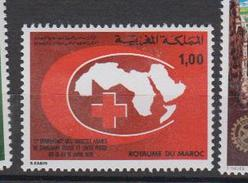 Maroc YV 810 MNH 1978 Croissant Rouge - Marruecos (1956-...)