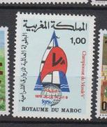 Maroc YV 816 MNH 1978 Championnat Voile - Marruecos (1956-...)