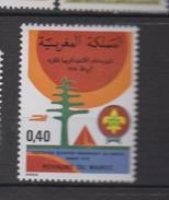 Maroc YV 818 MNH 1978 Scoutes - Marruecos (1956-...)