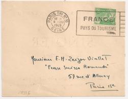 PARIS TRI N°16 SEINE FRANCE PAYS DU TOURISME. 1949 SUR CARTE POSTALE Galerie BILLIET CAPUTO. - 1921-1960: Modern Tijdperk