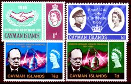 Cayman-024 - 1965-1966 - (++) MNH - Privi Di Difetti Occulti. - Cayman (Isole)