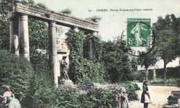 Angers - Musée St-Jean (portique Romain) - Edition Nouvelles Galeries - Carte N.G. Colorisée N° 60 - Musées