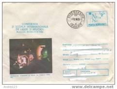 MF044 Romania 1982 Stamped Stationery - Laser K0001 - Ganzsachen
