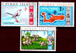 Cayman-027 - 1969-1970 - Privi Di Difetti Occulti. - Cayman (Isole)