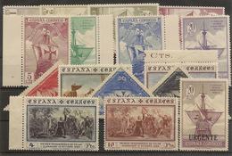 Edifil  531/546** LUJO  Descubrimiento De América  1930   Serie Completa    NL777 - Unused Stamps
