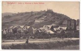 (Rhénanie Palatinat) 052, Bacharach, Partie M. Mûnzturn U. Ruine Stahleck - Bacharach