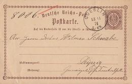 DR Ganzsache K1 Coeslin 13.11.74 - Deutschland