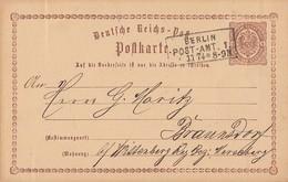 DR Ganzsache R3 Berlin Post-Amt 1  5.11.74 - Briefe U. Dokumente