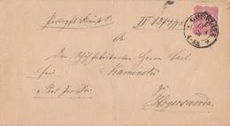 DR Brief EF Minr.41 K2 Goerlitz 10.4.76 Gel. Nach Hoyerswerda - Deutschland