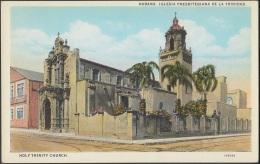 POS-252 CUBA POSTCARD CIRCA 1920. HABANA IGLESIA PRESBITERIANA DE LA TRINIDAD HAVANA PRESBITERIAN TRINITY CHURCH UNUSED - Cuba