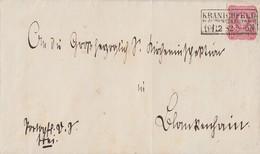 DR Brief EF Minr.41 R3 Kranichfeld In Sachs. Weim. Eisenach 19.12.82 - Germania