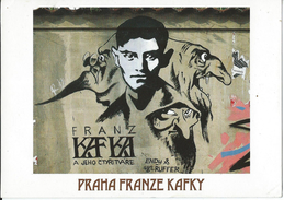 PRAGUE - Graffiti - Four Faces Of Franz Kafka - Tsjechië