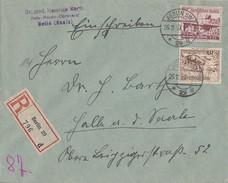 DR R-Brief Mif Minr.651,659 Berlin 26.11.37 - Germany