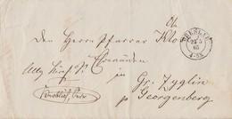 Preussen Brief K2 Breslau 23.5.65 Gel. Nach Gr. Zyglin - Preussen