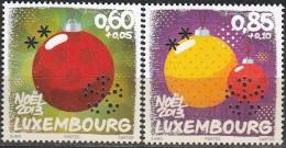 Luxembourg 2013 Boules De Noël Neuf **
