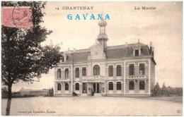 44 CHANTENAY - La Mairie  (Recto/Verso) - Francia
