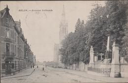 Arlon Aarlen Avenue Nothomb Luxemburg Luxembourg Postkaart CPA 1919 - Arlon