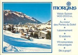 MORGINS VALAIS COEUR DES PORTES DU SOLEIL STATION SKI SPORT D'HIVER SUISSE SWITZERLAND - VS Valais