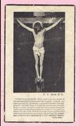 Bidprentje - FRANS SERVAES - Weelde 1857 - Turnhout 1939 - Images Religieuses