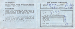 CARTE D'ASSURANCES -Sété ALGERIENNE D'ASSURANCE -UNITE DE SKIKDA N°011700 - Mappe
