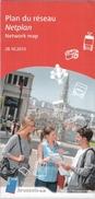 BRUXELLES - PLAN DU RESEAU DE LA STIB (2013) - Europe