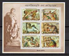 1975   Noël I, BF 84-85-84A-85A**, Cote 77 €, - 1970-79: Nuevos
