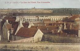 14 - CAEN - La Gare De L'Ouest, Vue D'ensemble - Caen