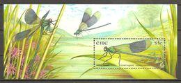 Irland Eire Ireland 2009 Dragonflies Libellen Michel No Bl. 81 (1912) MNH Postfrisch Neuf - Blocs-feuillets