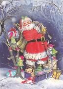 CARTE DOUBLE CARD SANTA CLAUS PERE NOEL - Santa Claus