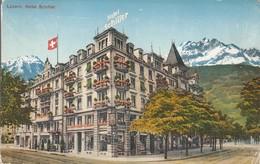 SVIZZERA - SUISSE - LUZERN - HOTEL SCHILLER.......BB - Svizzera