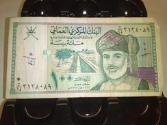 OMAN 1995 100 BAIZA P-31 RARE BANKNOTE LOC#A1497 - Oman