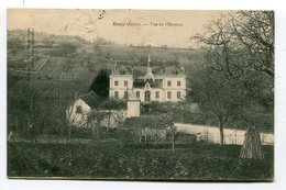 CPA 02  : ROUCY  Hospice  1905    A  VOIR  !!!! - France