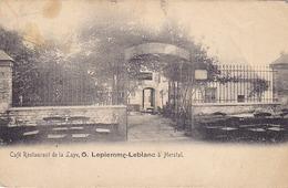 Herstal - Café Restaurant De La Laye, Lepiemme-Leblanc (quittance, Facture Au Dos) - Herstal