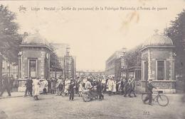 Herstal - Sortie Du Personnel De La Fabrique Nationale D'Armes De Guerre (top Animation, 1924) - Herstal