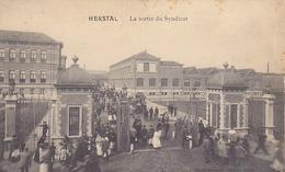 Herstal - La Sortie Du Syndicat (animée, Dumont, 1912) - Herstal