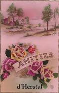 Herstal - Amitiés D' (fleurs Roses) - Herstal