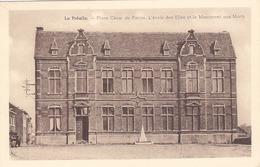 La Préalle - Place César De Paepe. L'Ecole Des Filles Et Monuments Aux Morts - Herstal