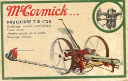 Faucheuse - Mac Cormick  7 B - 1.35 M - Tracteurs