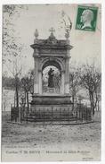 BRIVE EN 1924 - N° 32 - MONUMENT DE SAINT ANTOINE DE SAINT ANTOINE - BEAU CACHET - CPA VOYAGEE - Brive La Gaillarde