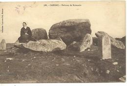 CARD  CARNAC - Dolmen & Menhirs