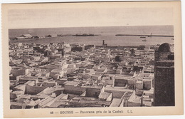 Sousse - Panorama Pris De La Casbah - LL - (Tunesie) - Tunesië