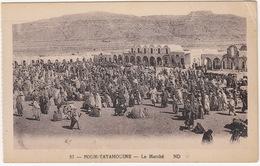 Foum-Tatahouine - Le Marché - (57 - ND) - (Tunesie) - Tunesië