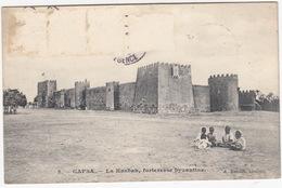 Gafsa - La Kasbah, Forteresse Byzantine (A. Reboul, Hotelier)  - (1908) - (Tunesie) - Tunesië