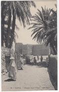 Gafsa - Chemin Dans L'Oasis -  (34 - ND Phot) - (Tunesie) - Tunesië