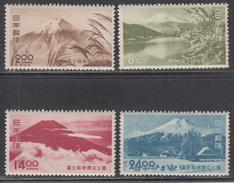 JAPAN     SCOTT NO.  460-63    MNH      YEAR  1949