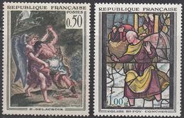 FRANCE    SCOTT NO.  1054-55     MNH     YEAR  1963 - Ungebraucht