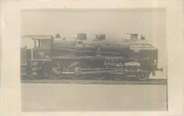 LOCOMOTIVE N° 4225 PO - Carte Photo. - Trains