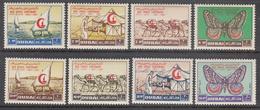 DUBAI    SCOTT NO.  18-21,C9-12      MNH      YEAR  1963 - Autres - Asie
