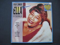 2 Disques 33 Tours : Ella FITZGERALD  & - Blues