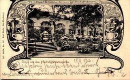 Gruss Aus Dem Friedrich-Wilhelms-Garten - Doppel-Terrasse Von Dem Neuen Gesellschaftshause - Magdeburg